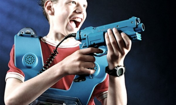 LaserFun lasertag boy player