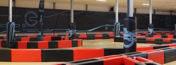 eKart drift track